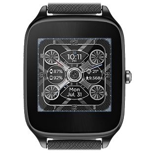 Mesh Gears HD Watch Face- screenshot thumbnail