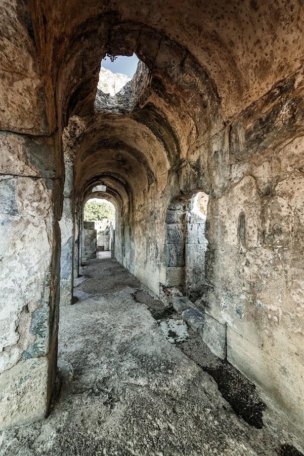 Roman Baths by Antonello Madau - Buildings & Architecture Public & Historical
