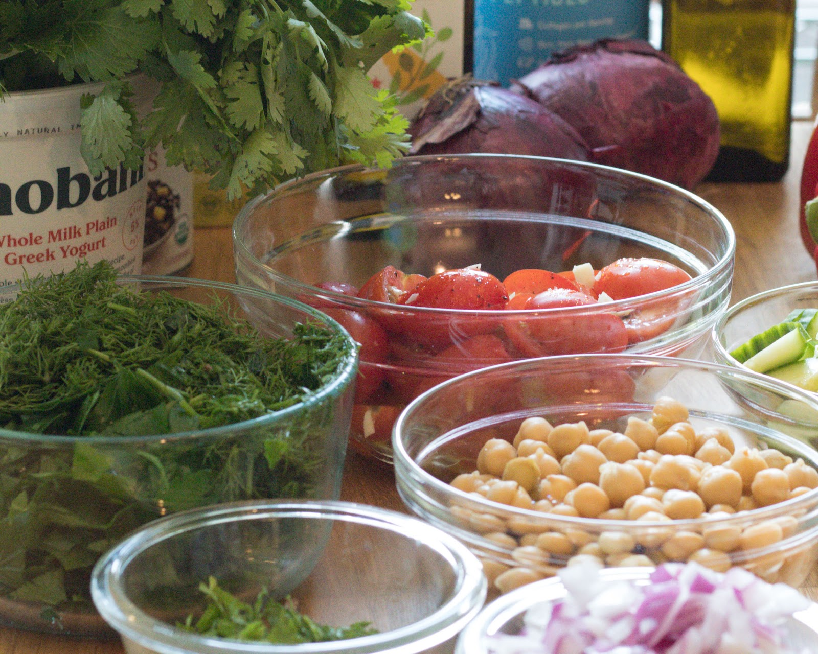 Greek Salad Ingredients Patience & Pearls