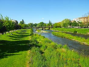 Photo: Farniente au bord du rio Najerilla