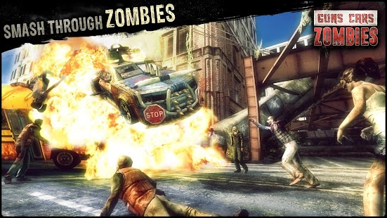 Guns, Cars and Zombies Screenshot