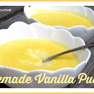 Homemade Vanilla Pudding Recipe