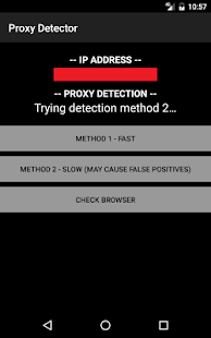 Proxy Detector- screenshot thumbnail