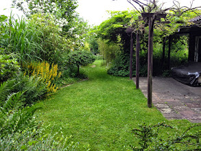 Photo: Naturgarten Düsseldorf Lohausen, Hinterer Teil mit Laube
