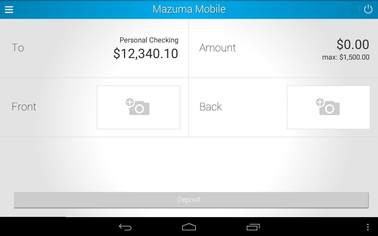 Mazuma Mobile Banking- screenshot