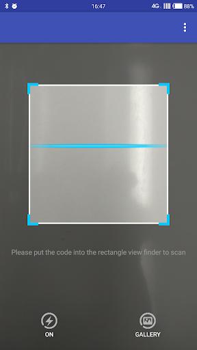 QR Code Scanner 2017 screenshot 1