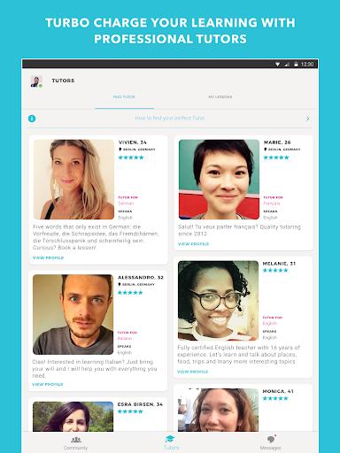Tandem Language Exchange: Speak any language 1.7.7 screenshots 10