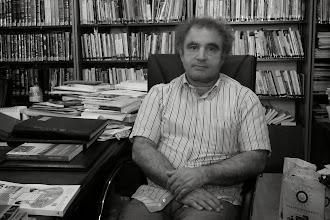 Photo: Prof. Kadri Yıldırım, director of the Institute of Living Languages at Mardin Artuklu University (the first Kurdish language and culture institute of Turkish university), Mardin 2013