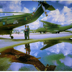 Royal Malaysian Airforce. by Awang Kassim - Transportation Airplanes ( aviation, transport )