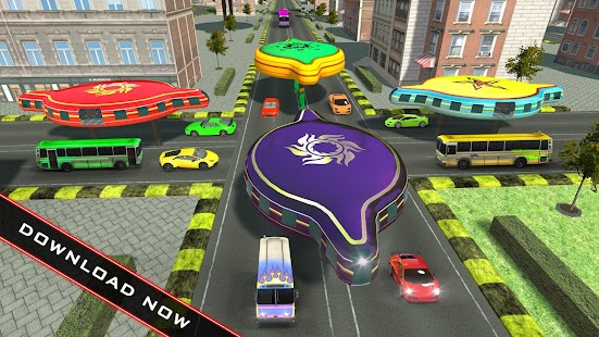 Real Gyroscopic Bus Simulator 3D - Transport Games - náhled