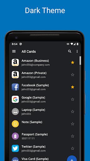 Screenshot for Password Manager SafeInCloud Pro in Hong Kong Play Store