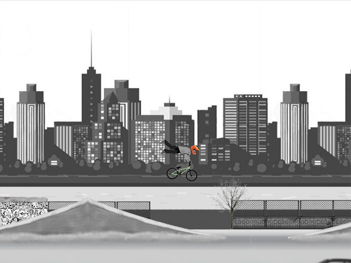 Winter BMX Mania- screenshot