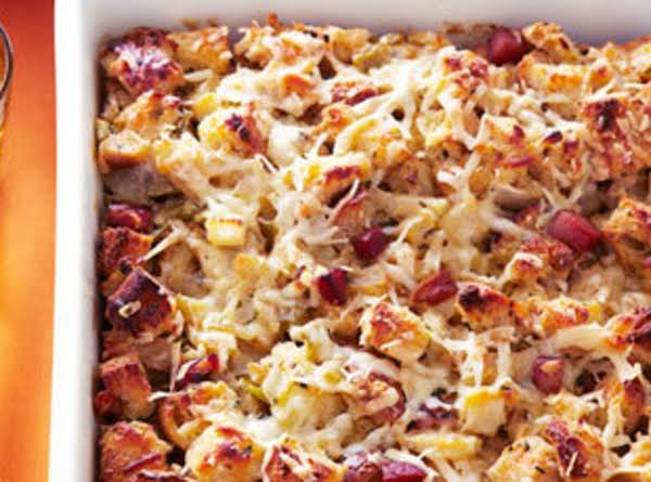Apple And Herb Bread Pudding Dressing Recipe