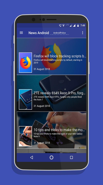 News android - news for android - news on android Screenshot 0