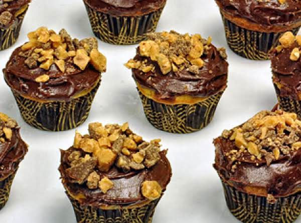 Heath Bar Banana Cupcakes Recipe