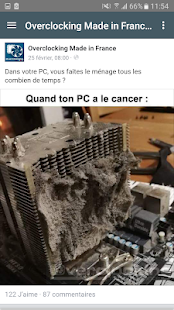Overclocking Made in France Capture d'écran