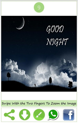 Good Night Wishes Images