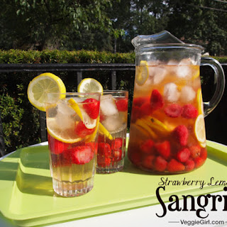 Strawberry Lemon Sangria