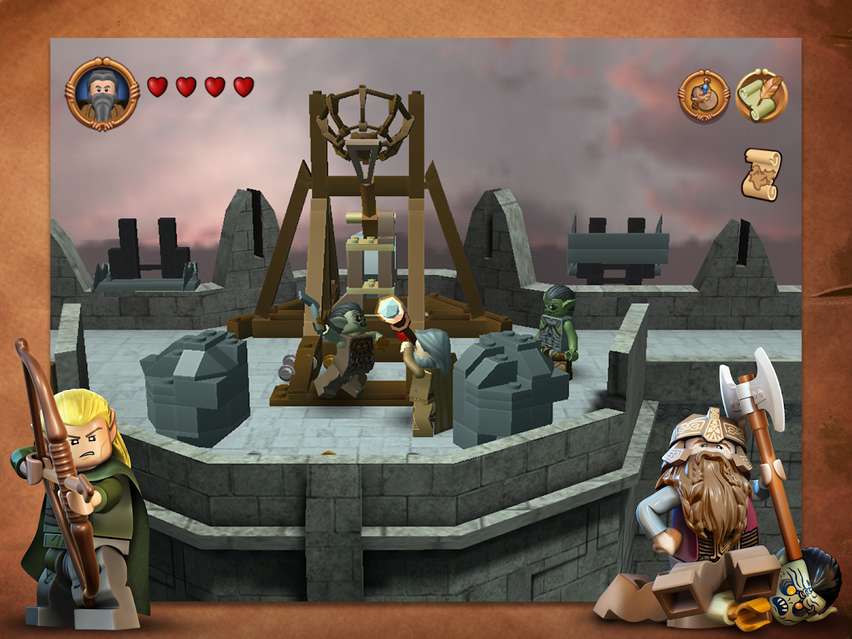 LEGO The Lord of the Rings- screenshot