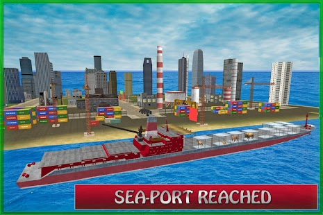 Animal Transport Cargo Ship screenshot