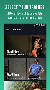 Fitplan: Train with Athletes- screenshot thumbnail