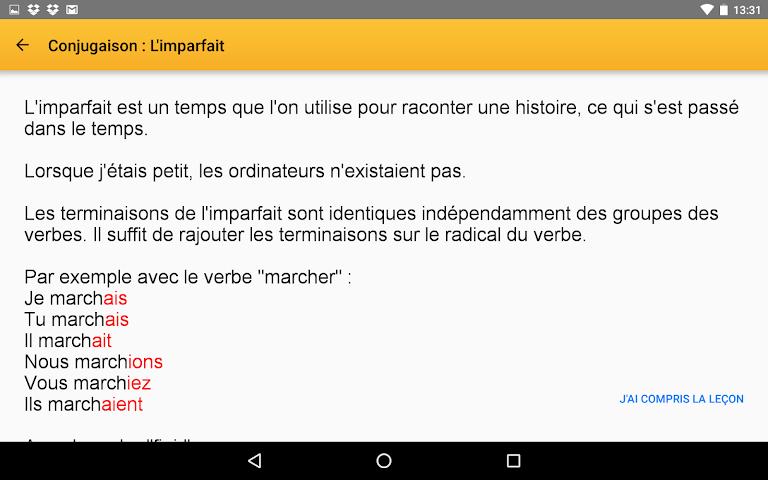 android Exogus CM2 Révision français Screenshot 13