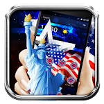 USA 4th July American Theme Icon
