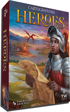 Cartographers: Heroes (Stand Alone)