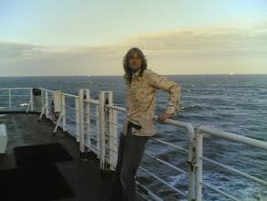 Photo: Scottish tour - op ferry (de Fons)