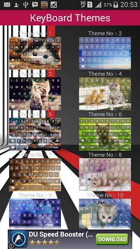 Kucing Theme Keyboard