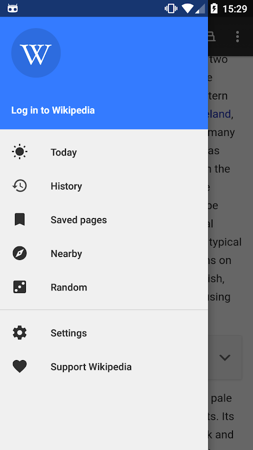Wikipedia- screenshot
