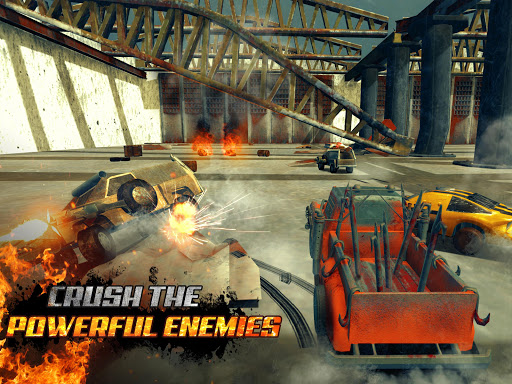Crushed Cars 3D - Extreme car racing shooter  gameplay | by HackJr.Pw 4