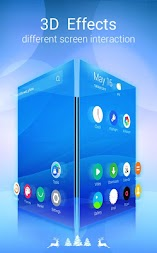 U Launcher Lite – FREE Live Cool Themes, Hide Apps APK screenshot thumbnail 1