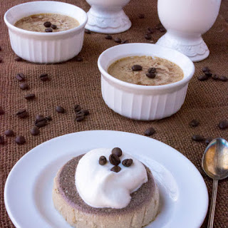 Sugar-Free Low Carb Coffee Roll Egg Custard