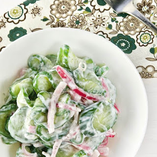 Best Cucumber Salad with Pickled Onions Recipe