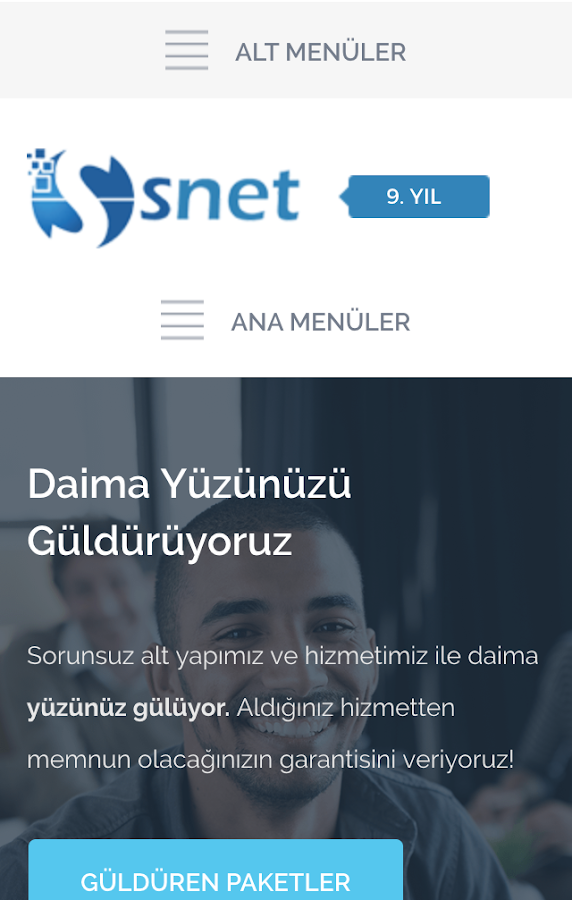 SNET- screenshot