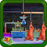 Meat Factory and Maker Icon