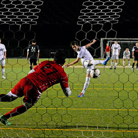 Penalty Kick by John Roberts - Sports & Fitness Soccer/Association football