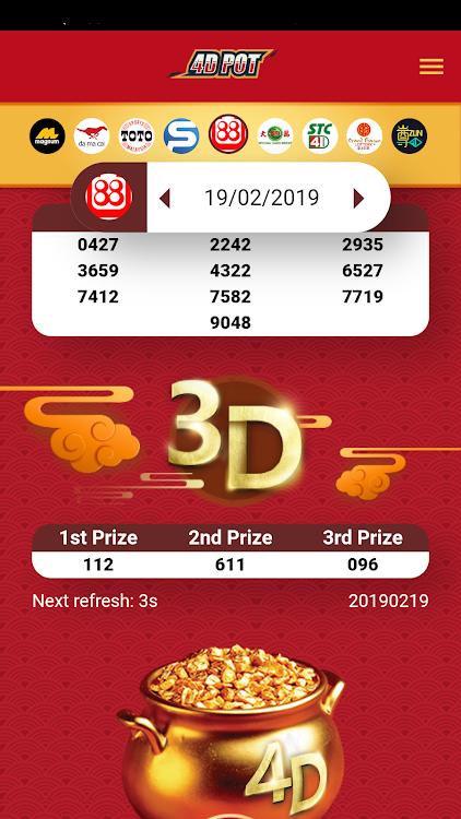 4D POT - 4D Live Result 4DPOT COM 3D 5D 6D – (Android Apps) — AppAgg