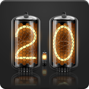 Neutron-2: Nixie Clock Widget