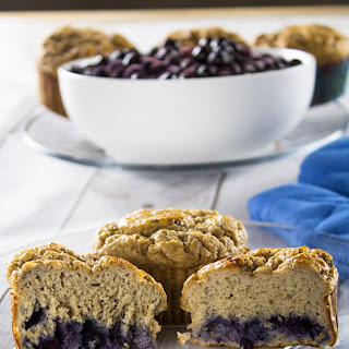 Healthy Blueberry Muffins From Scratch