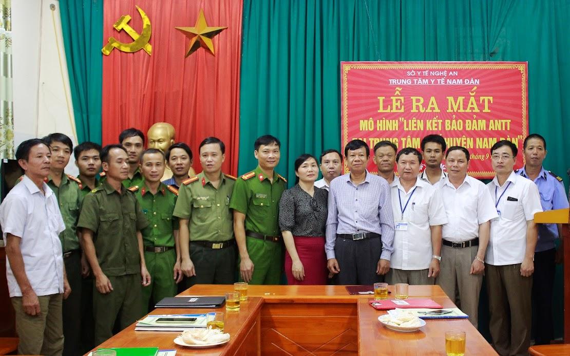"""Ra mắt mô hình """"Liên kết bảo đảm ANTT tại Trung tâm Y tế huyện Nam Đàn"""""""