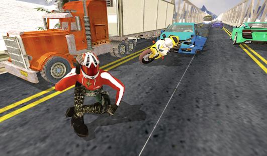 Moto Traffic Race 3D - náhled