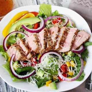 Tuna Steak Salad.