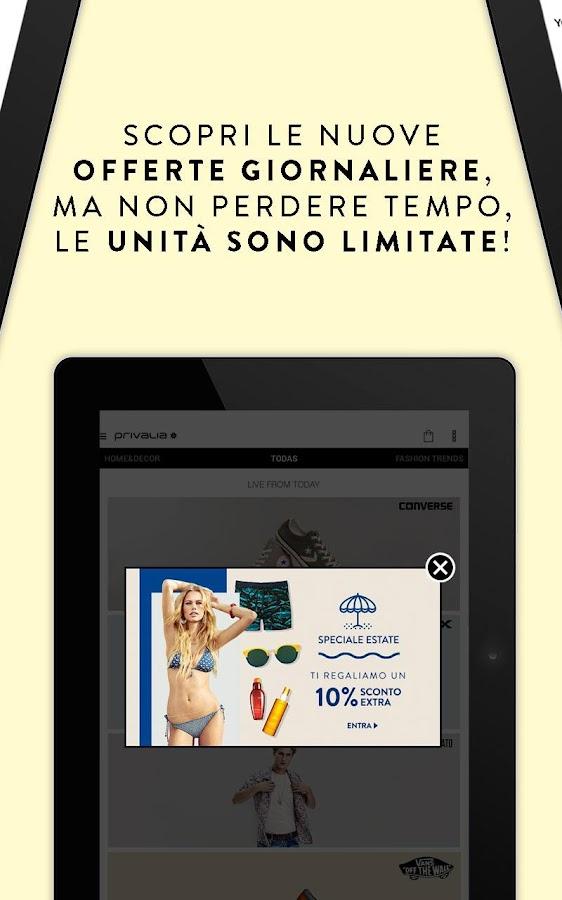 Privalia - Outlet con i migliori marchi di moda - Android Apps on ...