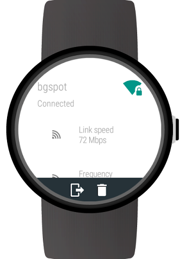 Wi-Fi Manager for Wear OS (Android Wear) screenshots 5