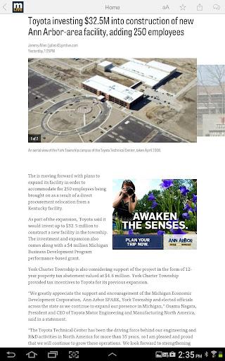 MLive.com screenshots 5
