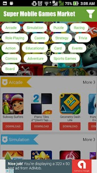 Super Mobile Games Market