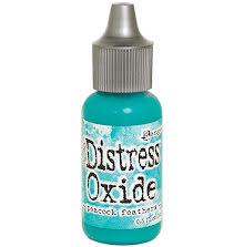 Tim Holtz Distress Oxide Ink Reinker 14ml - Peacock Feathers