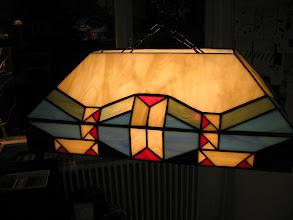 Photo: tafellamp door Manon Groenescheij
